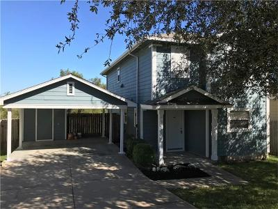 Manor Single Family Home Pending - Taking Backups: 17620 Powder Creek Dr