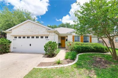 Cedar Park Single Family Home For Sale: 2110 Kimra Ln