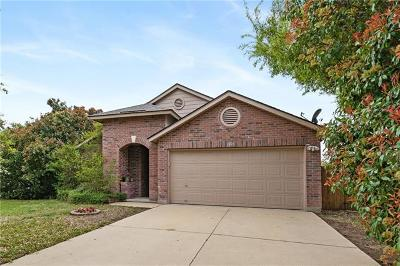 Round Rock Single Family Home For Sale: 1001 Sheltie Cv