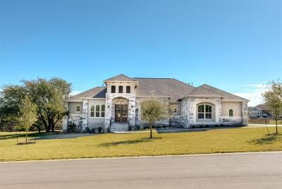 Leander Single Family Home For Sale: 3304 Vista Heights Dr