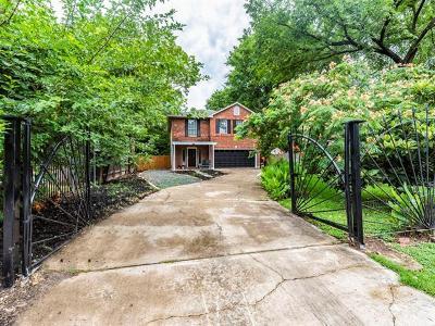 Austin Single Family Home For Sale: 1011 Lott Ave