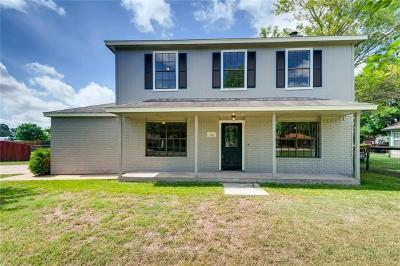 Hutto Single Family Home Pending - Taking Backups: 115 Whitetail Ln