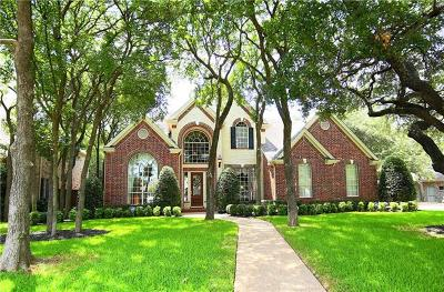 Round Rock Single Family Home For Sale: 1507 Weiskopf Loop