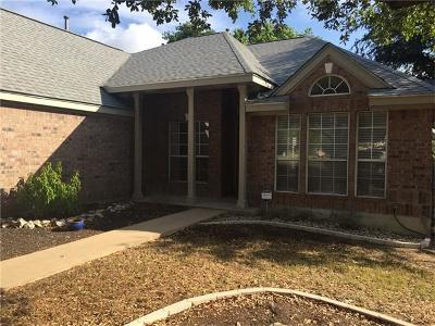 Georgetown Single Family Home Pending - Taking Backups: 205 Parque Vista Dr