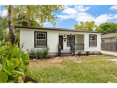 Travis County Single Family Home For Sale: 1523 Piedmont Ave #A
