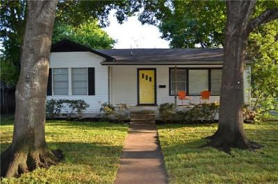 Hays County, Travis County, Williamson County Single Family Home For Sale: 1515 Brentwood St