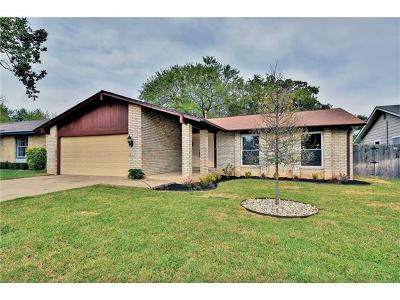 Austin Single Family Home For Sale: 12112 Grey Fawn Path