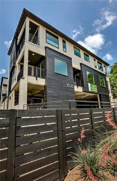 Austin Condo/Townhouse For Sale: 1306 West Ave #203