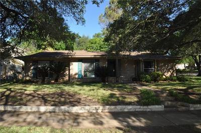 Austin Single Family Home For Sale: 5804 Bullard Dr