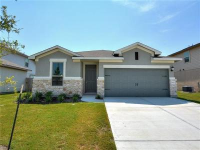 Pflugerville Single Family Home For Sale: 19213 Kimberlite Dr