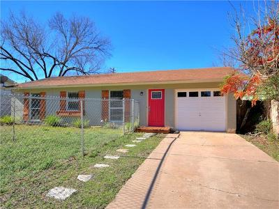 Hays County, Travis County, Williamson County Single Family Home Pending - Taking Backups: 6002 Blythewood Dr