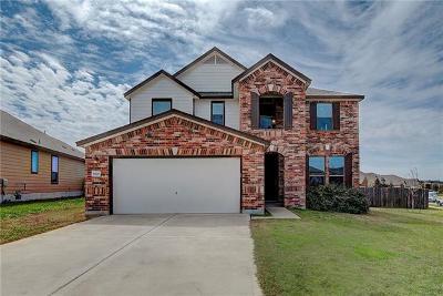 Round Rock Single Family Home For Sale: 5801 Pescia St