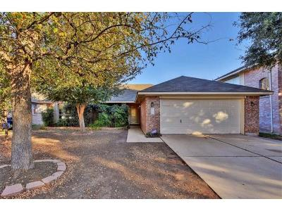 Leander Single Family Home For Sale: 707 Mountain Ridge Dr