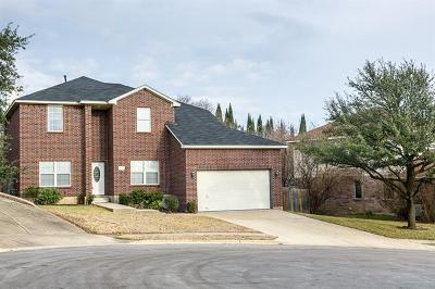 Round Rock Single Family Home For Sale: 902 Hollow Trail Ct