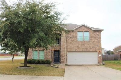 Hutto Single Family Home For Sale: 101 Castle Dr