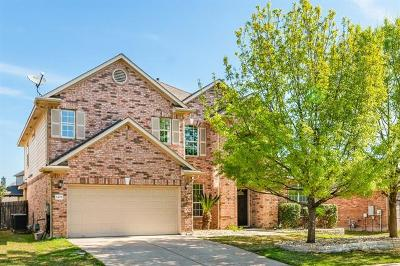 Pflugerville Single Family Home Active Contingent: 2408 Pauma Valley Way