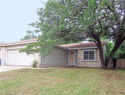 Austin Single Family Home For Sale: 5923 Avery Island Ave