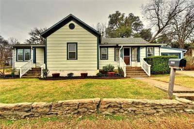 Round Rock Single Family Home Pending - Taking Backups: 1005 E Austin Ave
