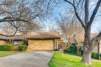 Austin Condo/Townhouse For Sale: 9311 Singing Quail Dr #76-CR