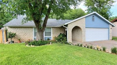 Round Rock Single Family Home For Sale: 1202 Wroxton Way
