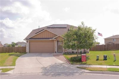 Hutto Single Family Home For Sale: 118 Hawkins Ct
