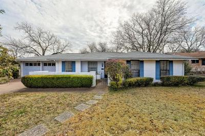 Travis County Single Family Home Pending - Taking Backups: 9903 Chukar Cir