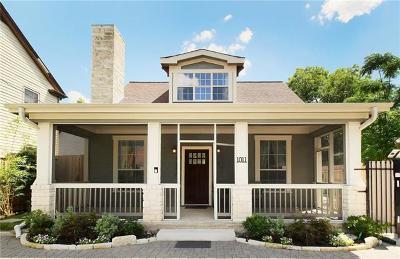 Austin Single Family Home For Sale: 1011 E 38th 1/2 St