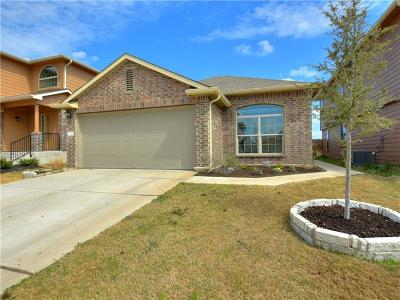 Manor Single Family Home For Sale: 12108 Walter Vaughn Dr