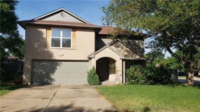 Leander Single Family Home For Sale: 500 Battlecreek Ln