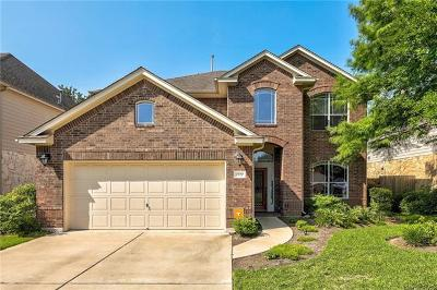 Cedar Park Single Family Home For Sale: 2720 Checker Dr