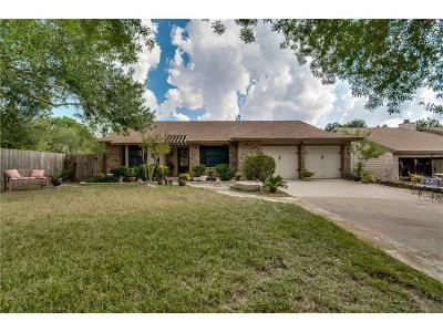 Hays County, Travis County, Williamson County Single Family Home For Sale: 3204 Western Dr