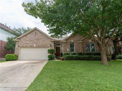 Round Rock Single Family Home For Sale: 3737 Harvey Penick Dr