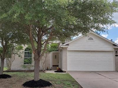Round Rock Single Family Home For Sale: 1004 Kenneys Way