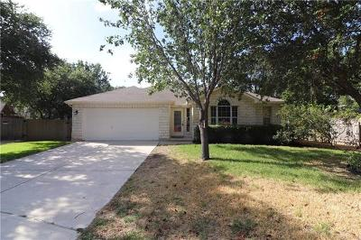 Leander Single Family Home For Sale: 1921 Rutherford Dr