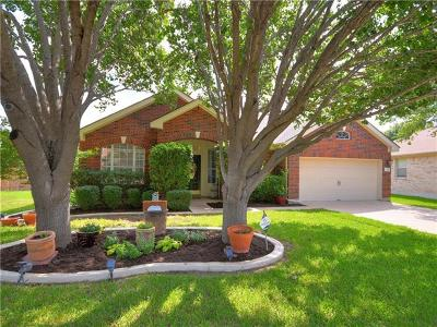Round Rock TX Single Family Home For Sale: $389,000