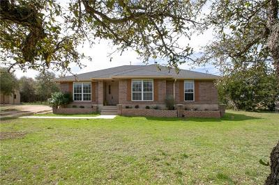 Dripping Springs Single Family Home Pending - Taking Backups: 847 Beauchamp Rd