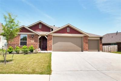 Round Rock Single Family Home For Sale: 5721 Corsica Loop