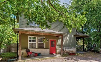 Austin Single Family Home For Sale: 506 W 51st St #B