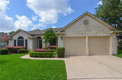 Round Rock TX Single Family Home For Sale: $337,500