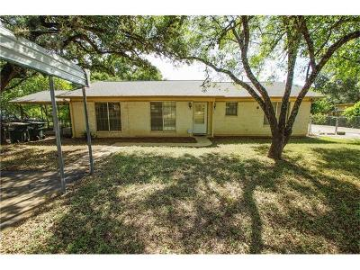 Buda Single Family Home Pending - Taking Backups: 12613 Red Bud Trl