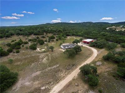 Dripping Springs Single Family Home For Sale: 1100 Lost Valley Rd
