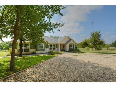 Single Family Home For Sale: 10900 E State Highway 29