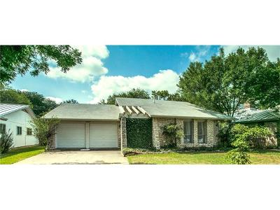 Austin Single Family Home For Sale: 10103 Osprey Ct