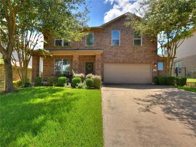 Round Rock Single Family Home For Sale: 1735 Woodvista Pl
