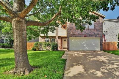 Cedar Park Single Family Home For Sale: 1201 Del Roy Dr