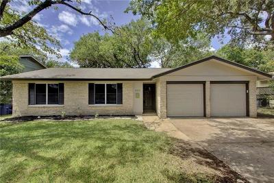 Austin Single Family Home Pending - Taking Backups: 8402 Flagstone Dr