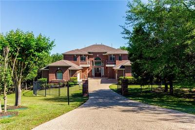 Austin Single Family Home For Sale: 13612 Flat Top Ranch Rd