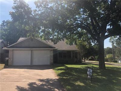 Austin TX Single Family Home For Sale: $359,900