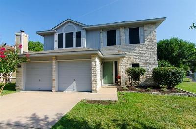 Travis County Single Family Home Pending - Taking Backups: 8800 Pepper Grass Cv