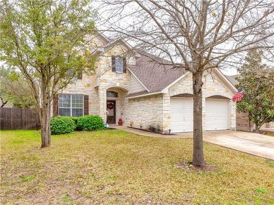 Leander Single Family Home Pending - Taking Backups: 1403 Shamitas Ct